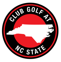 Club golf at ncstate logo
