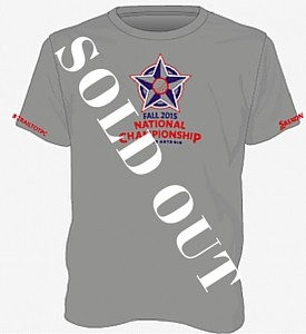 NCCGA National Championship Tee Shirts