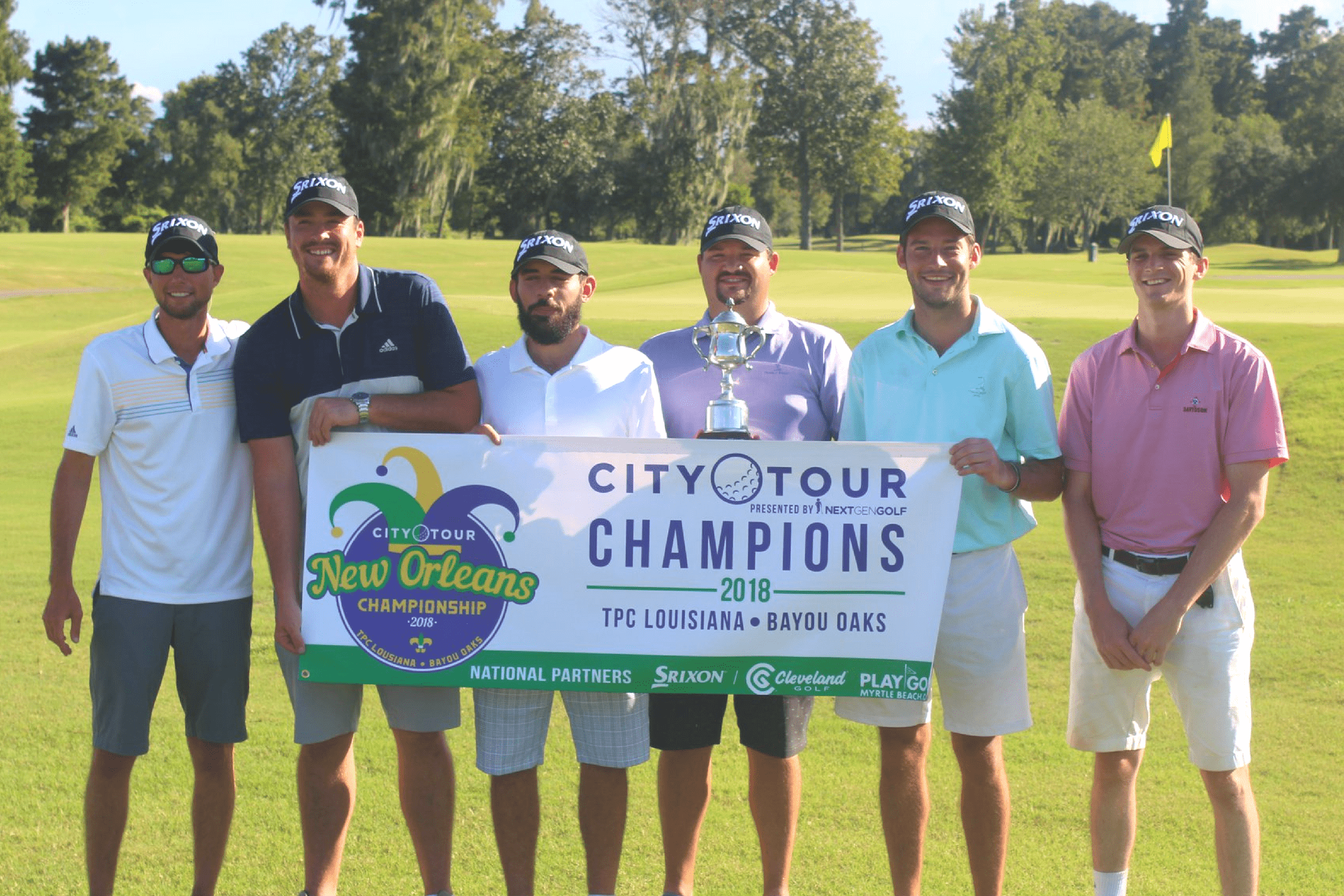 2018 City Tour Chmampions Scramble