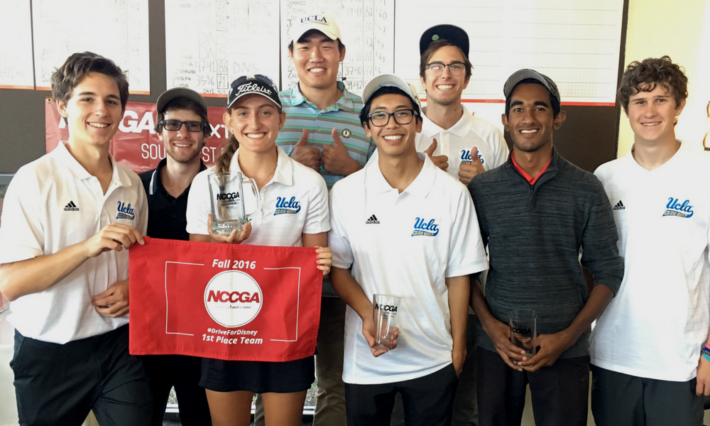 UCLA club golf team