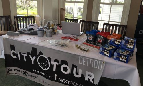 Detroit City Tour table