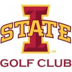 iowa state club golf logo