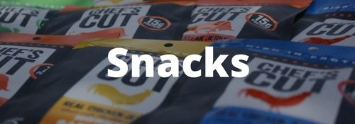 golf snacks player shop banner