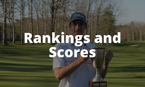 College Golf Recruiting Rankings and Scores