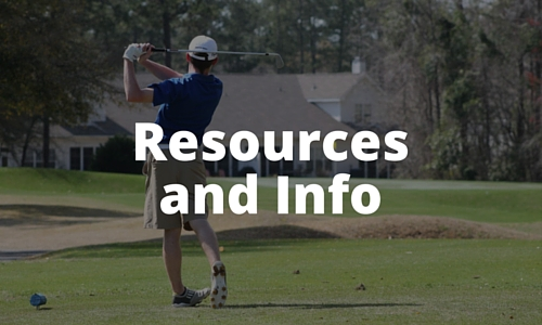 college golf recruiting resources and info