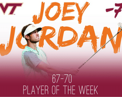 Joey Jordan Virginia Tech Club Golf