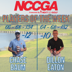 Players of the week NCCGA week 2