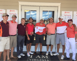 Virginia Tech club golf team
