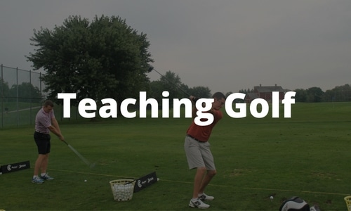 Teaching to Golf on campus
