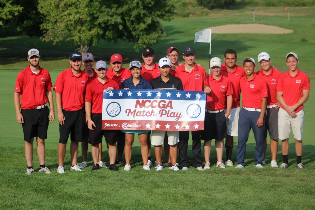 east coast college golf match play group