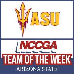 Arizona State team of the week NCCGA