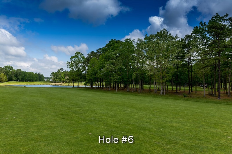 Blue Heron Pines hole 6