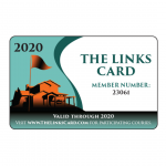 The Links Card Golf Discount Logo